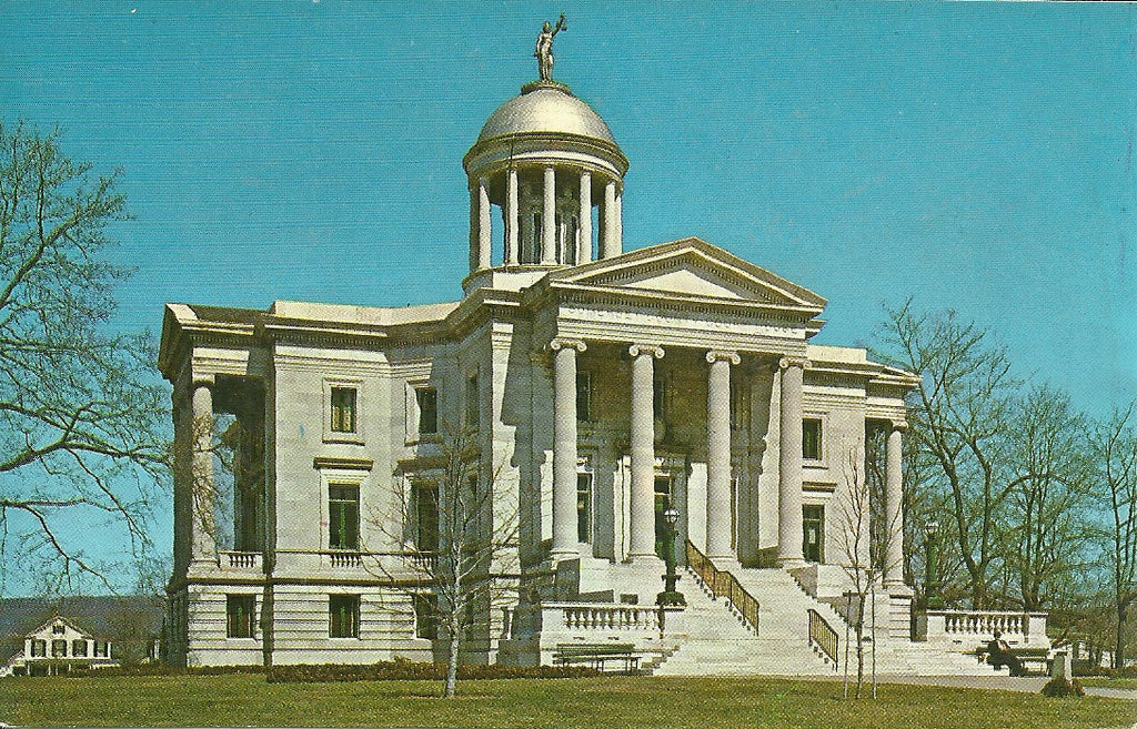USA - New Jersey - Somerville - Somerset County Courthouse Postcard