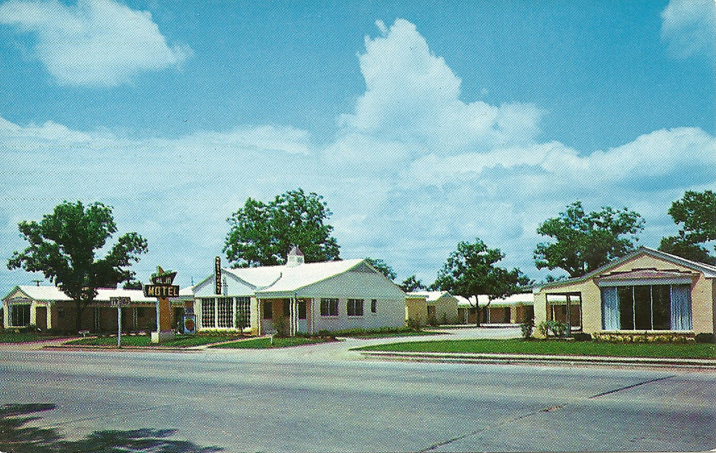USA - Georgia - Albany - AlJo Motel Postcard