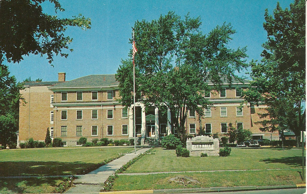 USA - Ohio - Marion - City Hall Postcard