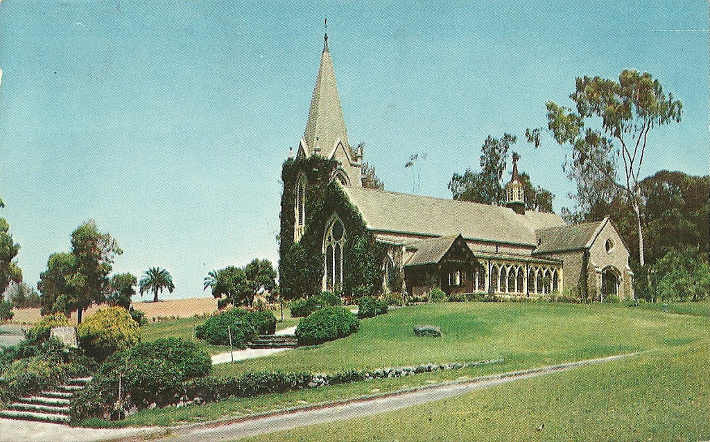 USA - California - Chula Vista - Chapel of the Roses Postcard
