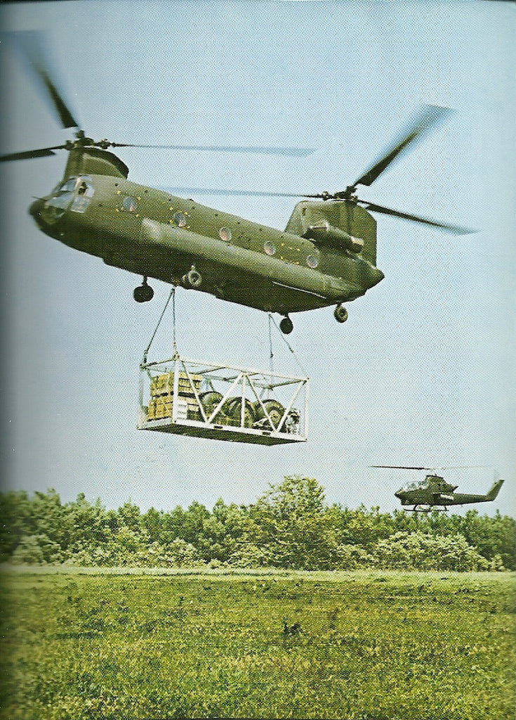 Boeing Chinook Helicopter Postcard