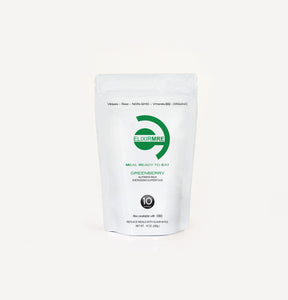 Elixir MRE - Mookies - gluten free vegan meal cookies, super-foods, and immune support teas -Elixir MRE - Greenberry - Elixir MRE