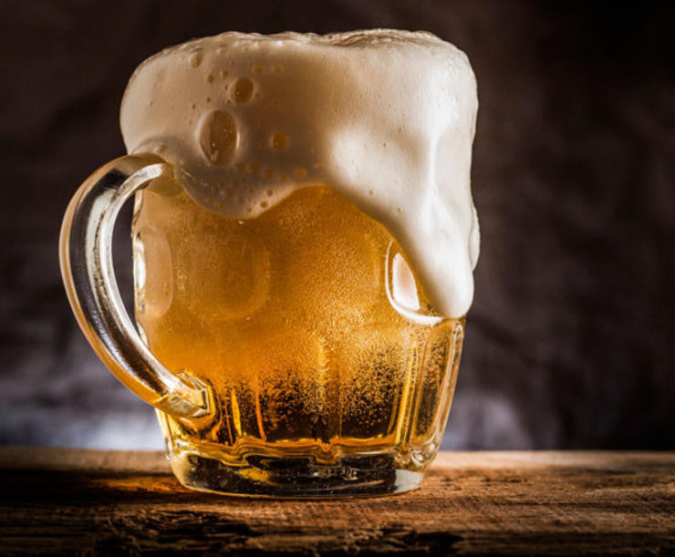 It's beer'o'clock somewhere; good thing it's good for you