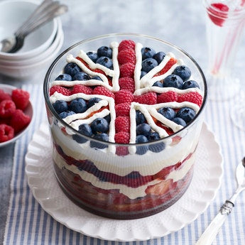 Union Jack Trifle