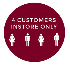 4 customers in store