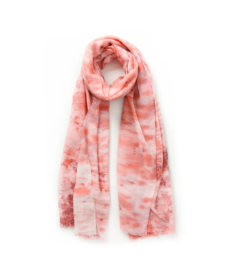 Ladies Scarf - Pink Waterfall