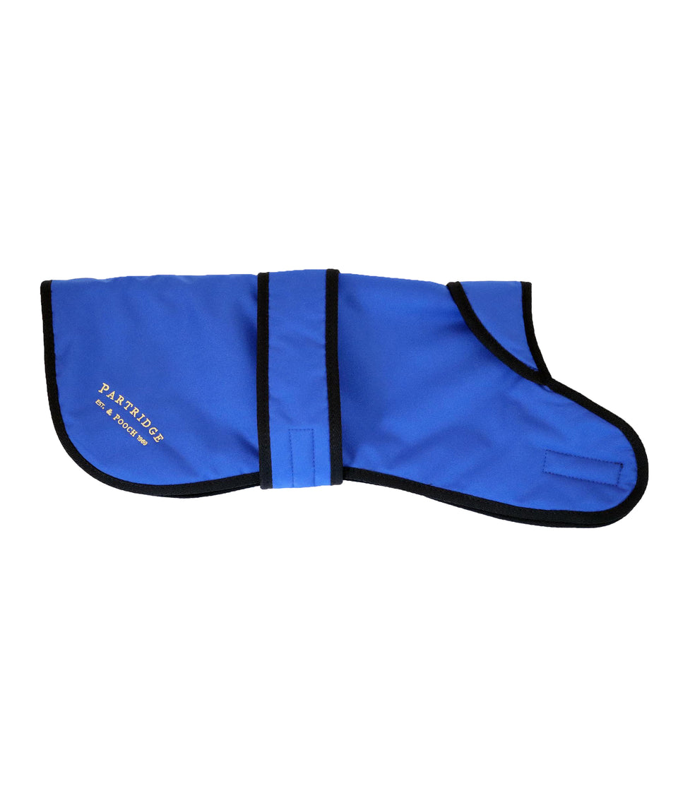 Dog Coat - Royal Blue Nylon