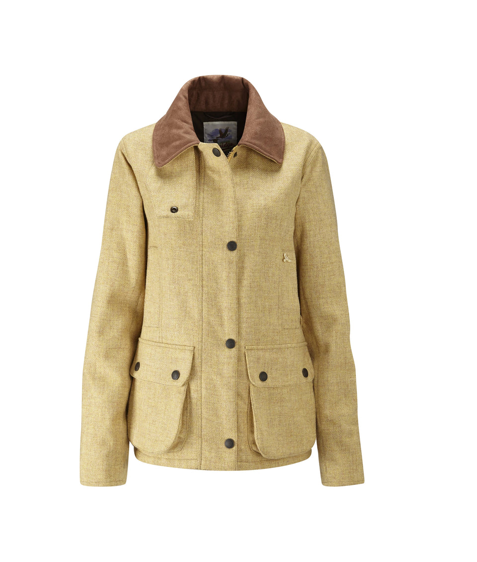 Chaseland Tweed Shooting Jacket - Marzipan Yellow