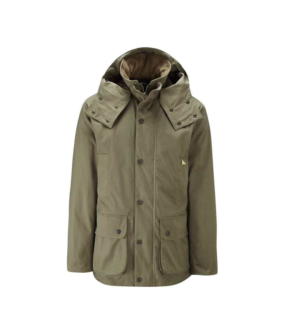 Lowland Cotton Shooting Jacket - Khaki