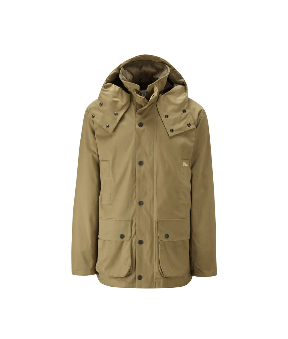Lowland Cotton Shooting Jacket - Tan