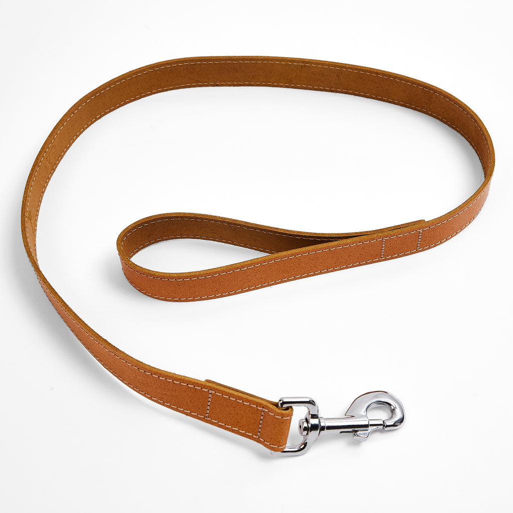 Leather Lead - Tan