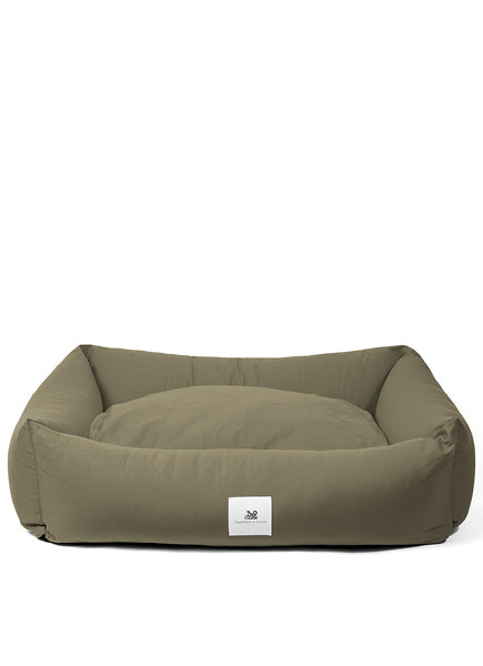 Amherst 2 in 1 Dog bed - Khaki Green