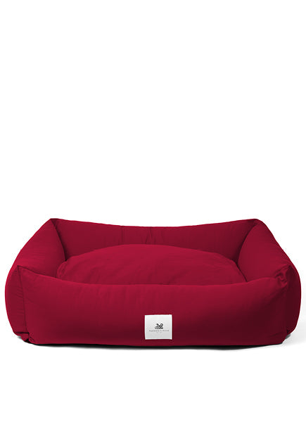 Amherst 2 in 1 Dog bed - Mulberry Red