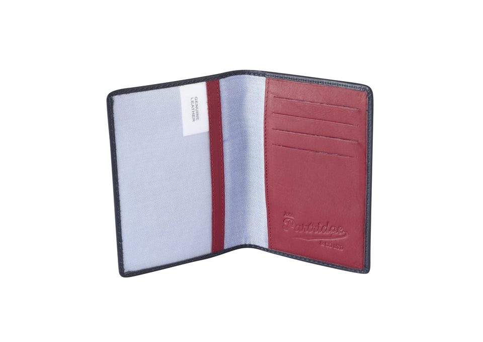 Travel Gift Sets - Sports Leather Navy/Red