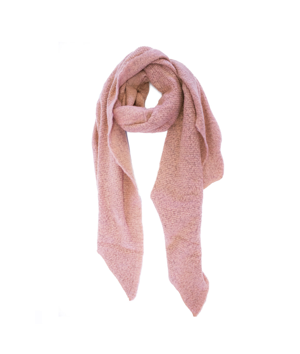 Ladies Scarf - Asymmetric Pink