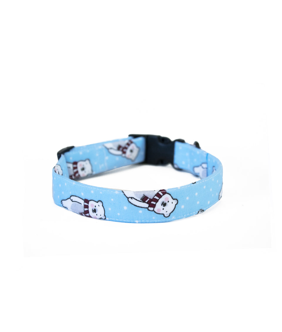 Dog Christmas Collar - Polar Bear