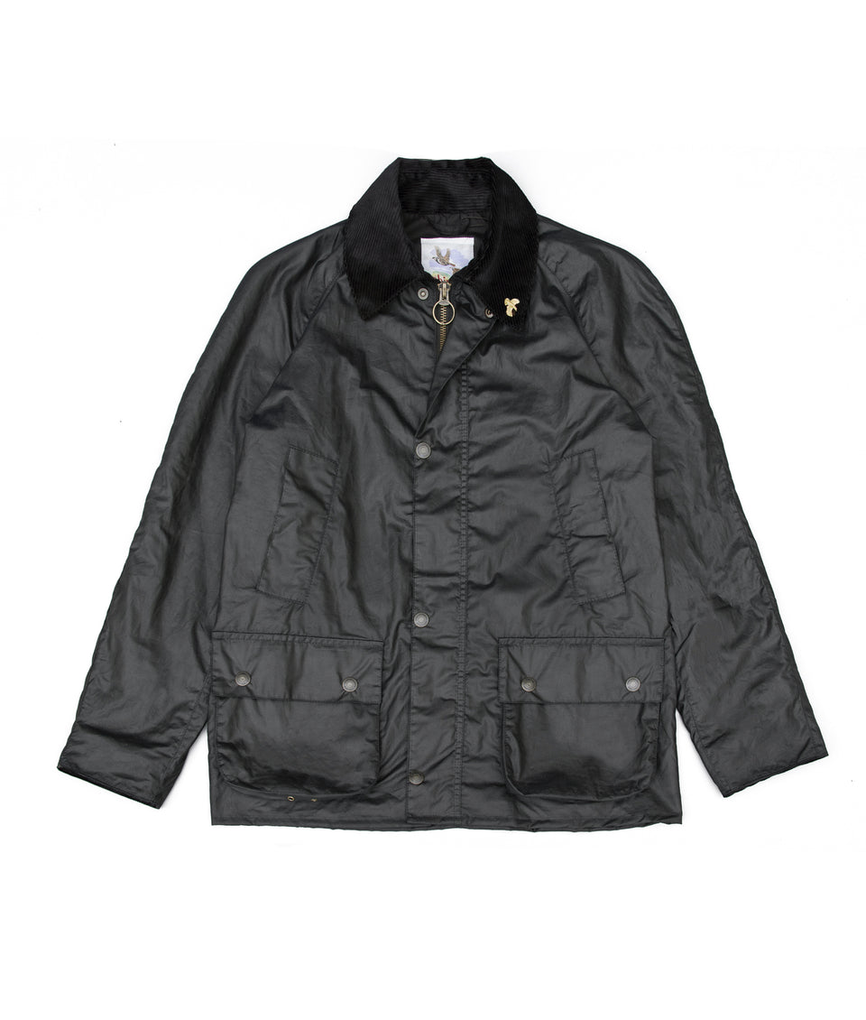 Landowner Wax Walking Jacket - Black