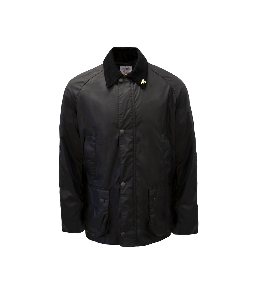 Lightweight Landowner Wax Walking Jacket - Black