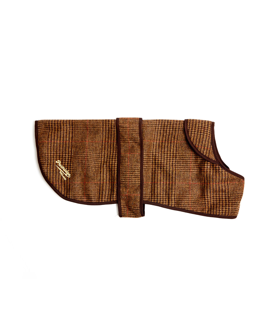 Dog Coat - Brown Hybrid Tweed