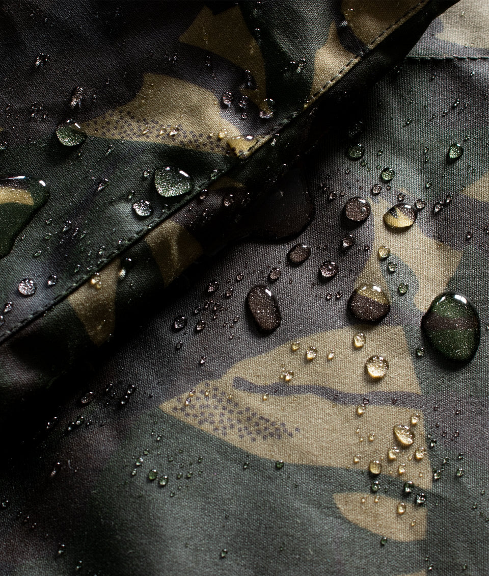 Ladies Landowner Wax Walking Jacket - Olive Camo