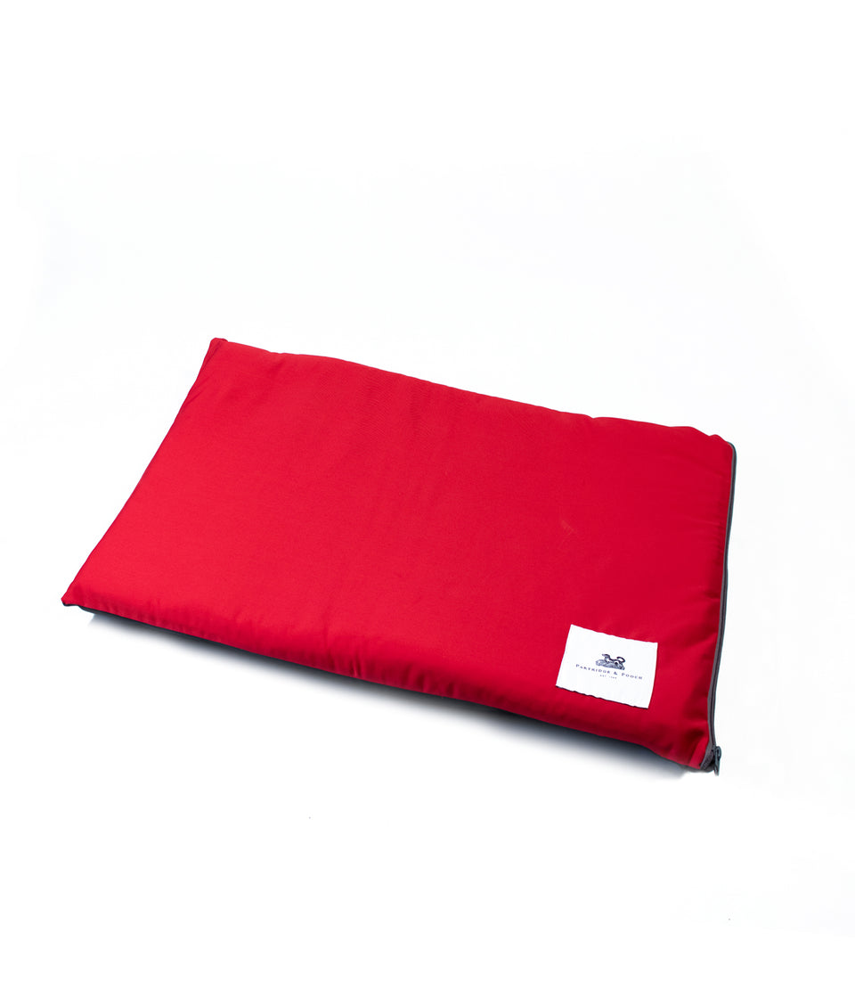 dog mat red