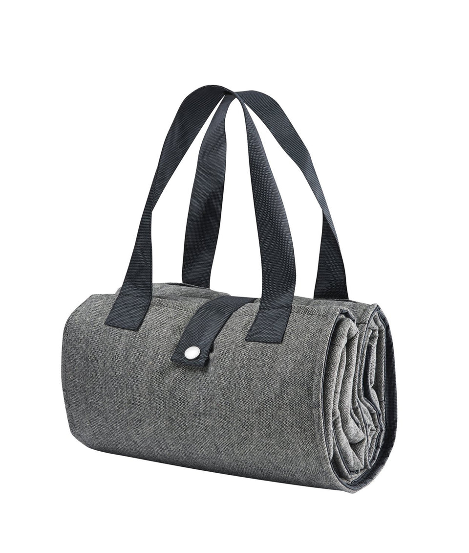 Picnic Blanket - Grey Tweed