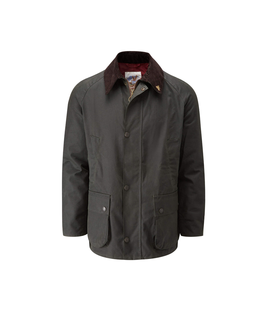 Heathland Wax Walking Jacket - Sage
