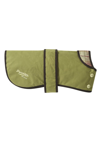 Green Dog Coat