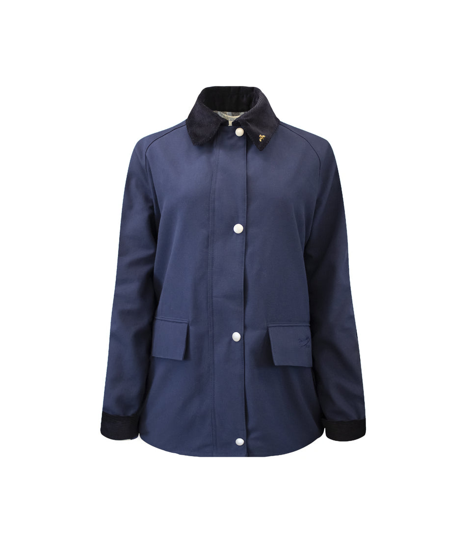Ladies Landowner Casual Walking Jacket - Navy