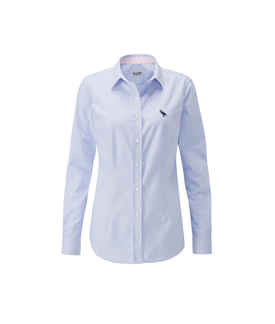 Ladies Oxford Shirt - Blue