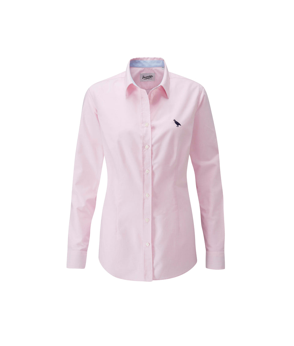Ladies Oxford Shirt - Pink