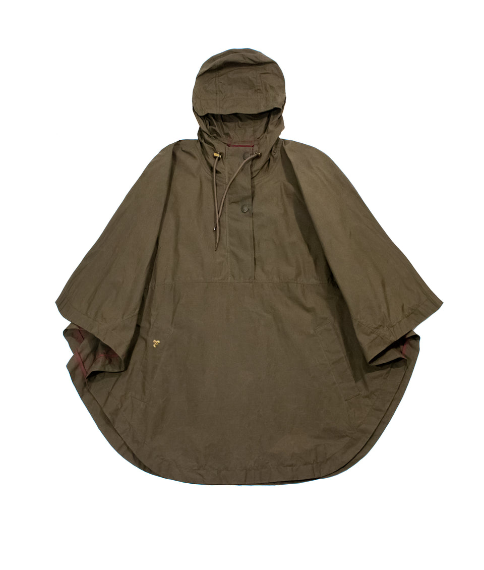 Derby Wax Cape - Khaki