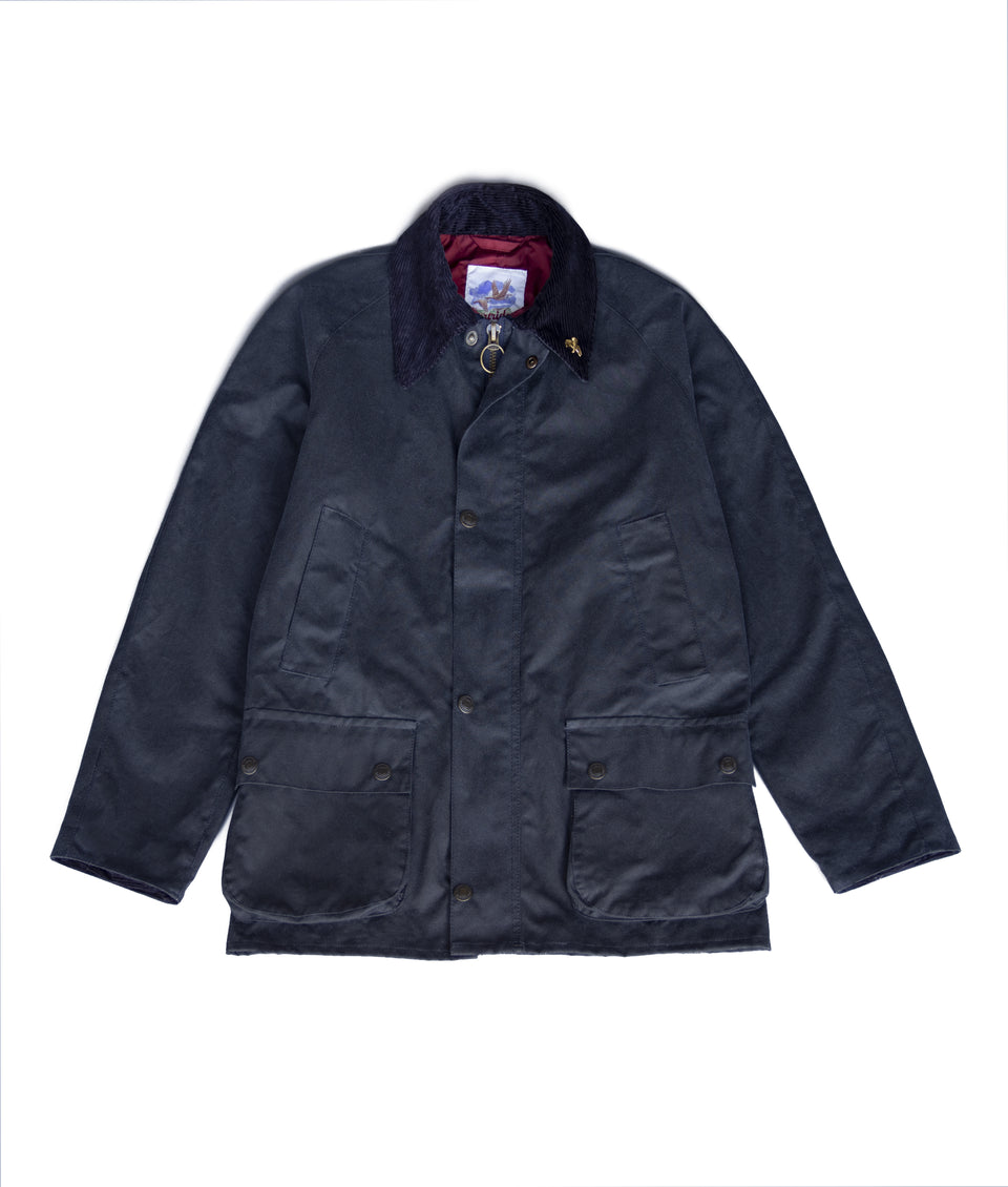 Landowner Wax Walking Jacket - Navy