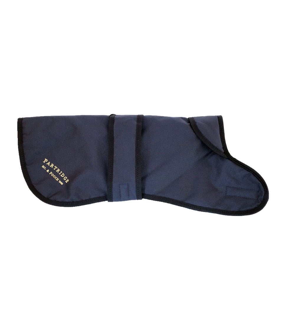 Dog Coat - Navy Nylon
