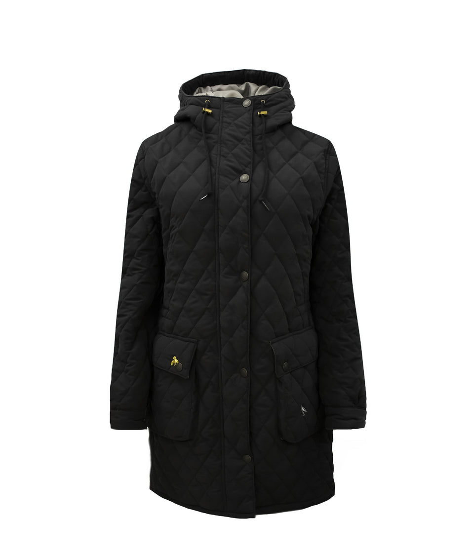Newmarket Quilted Jacket - Black