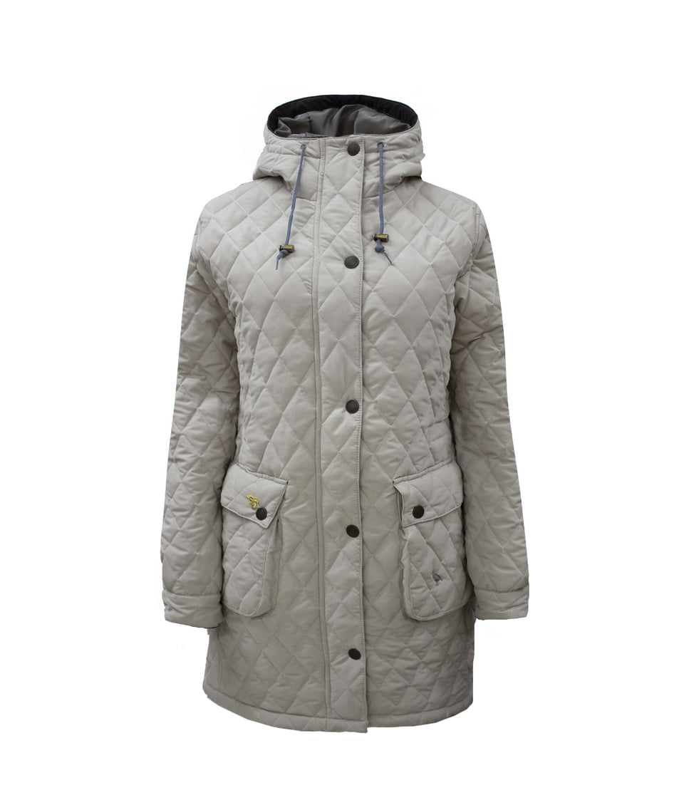 Newmarket Quilted Jacket - Sable Grey