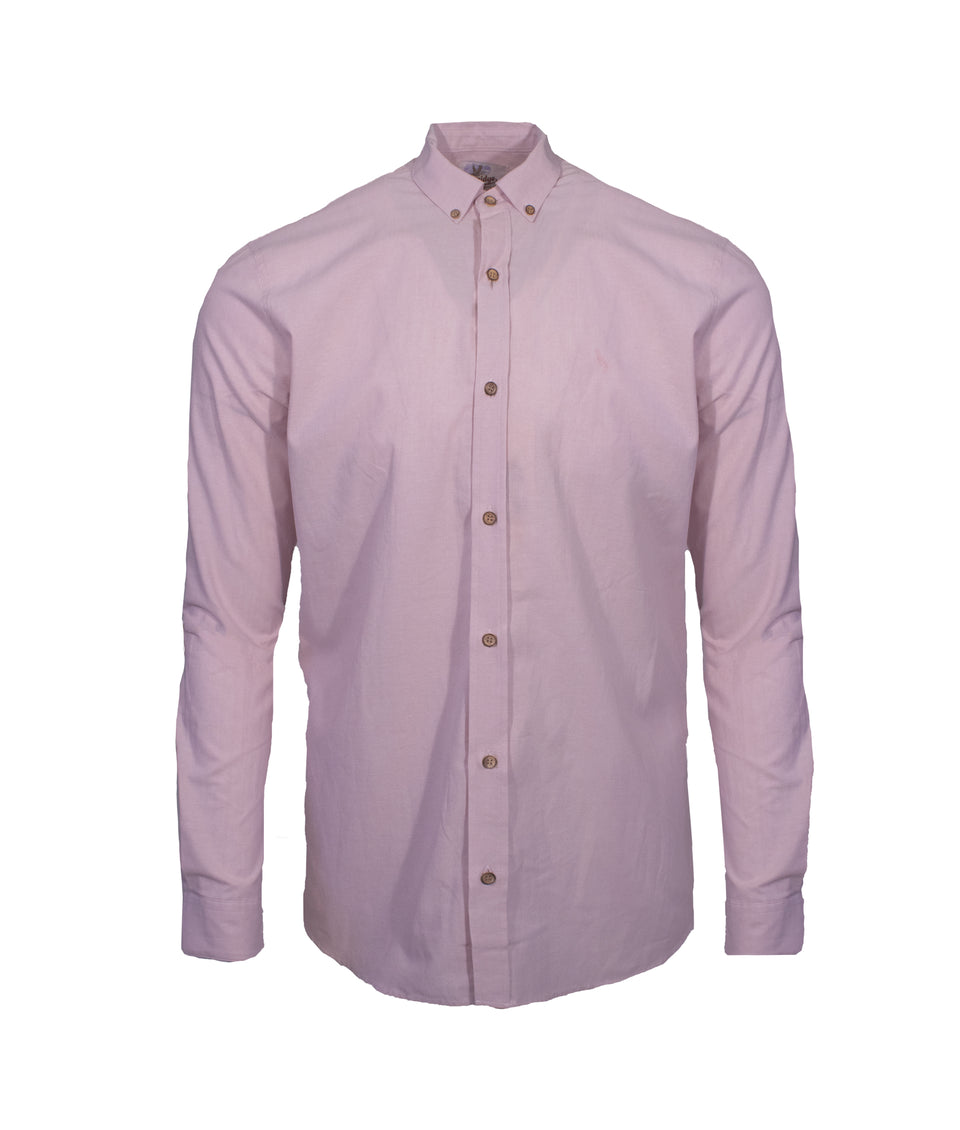 Ridware Chambray Shirt - Light Pink