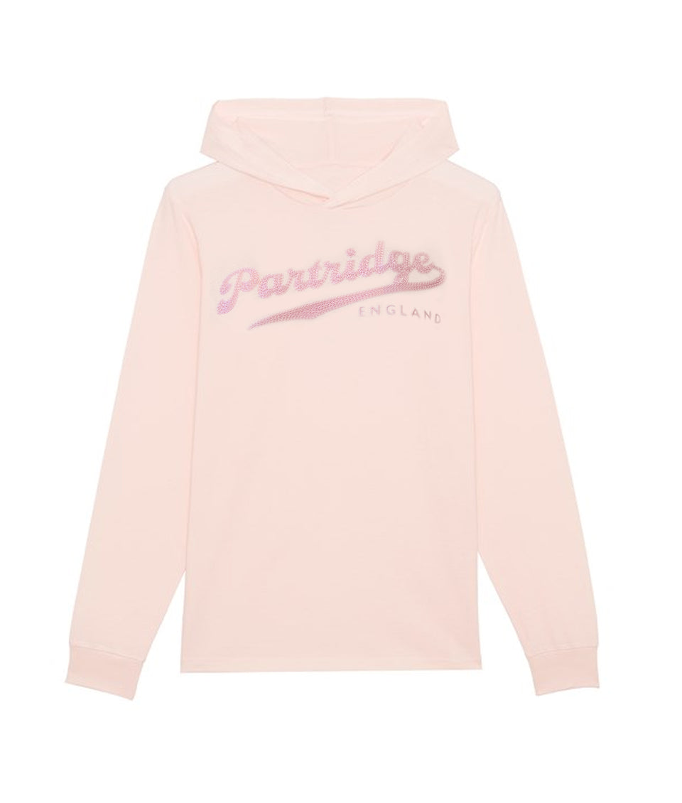 Hooded Sweatshirt - Pink