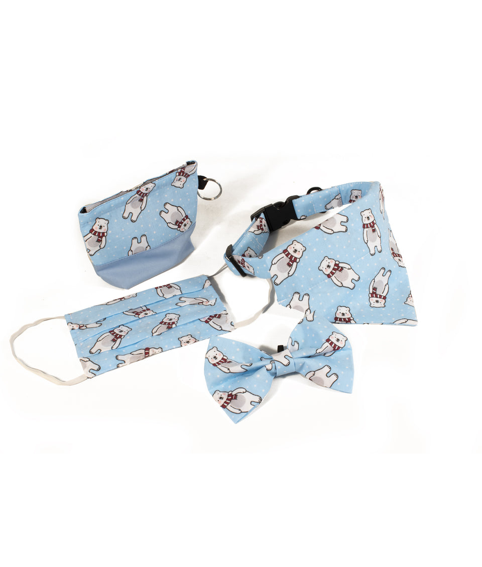 Dog Accessories Christmas Gift Set - Polar Bear