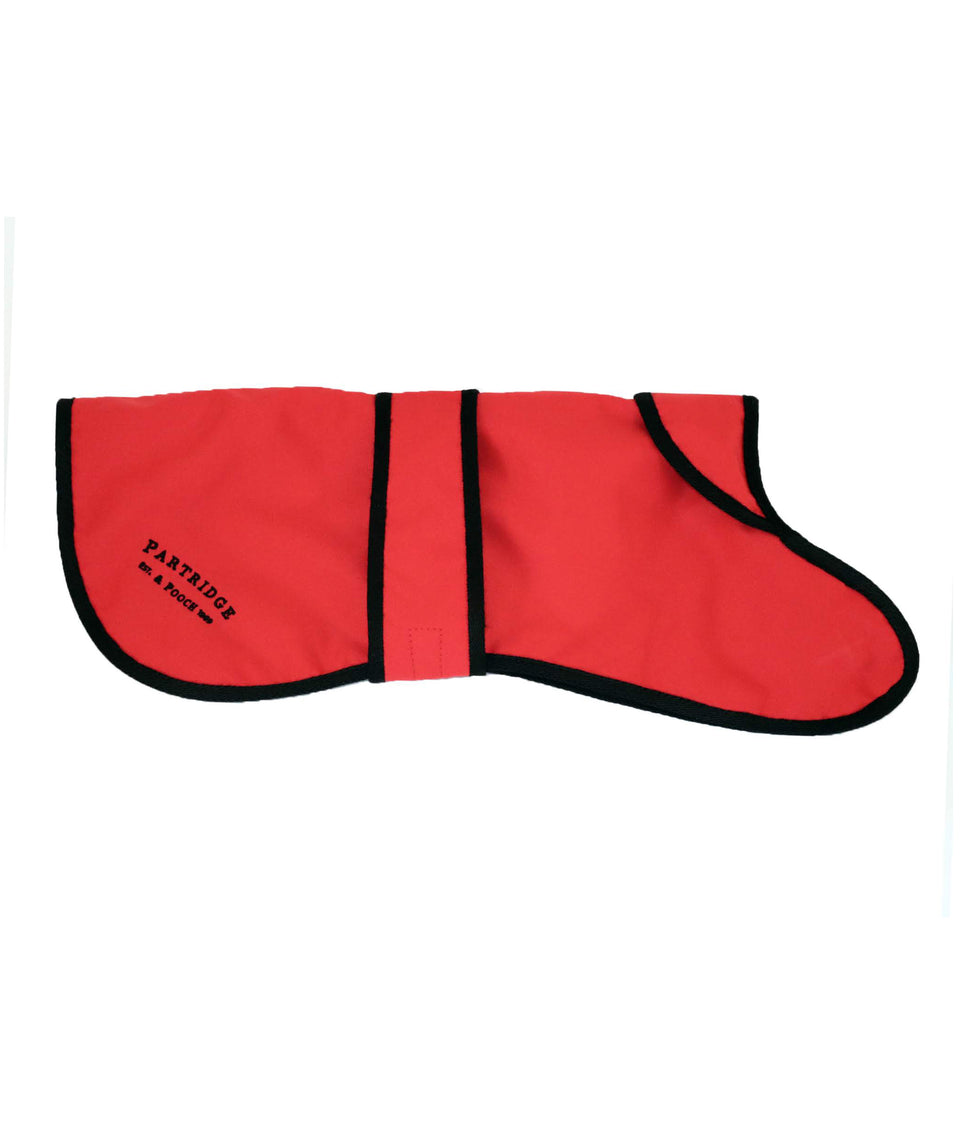 Dog Coat - Red Nylon
