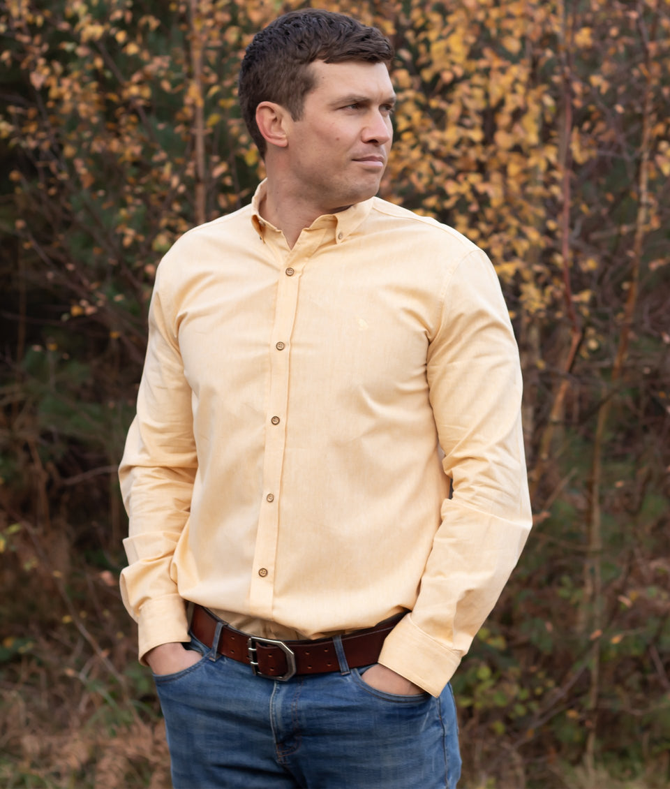 Ridware Chambray Shirt - Yellow