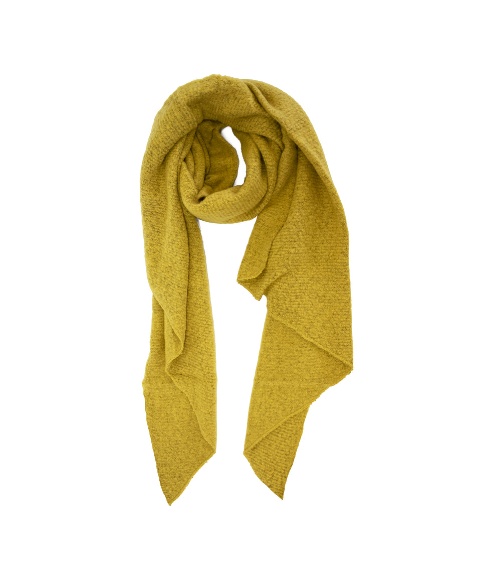 Ladies Scarf - Asymmetric Mustard