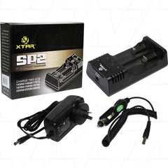 XTAR SP2 100-240VAC - Lithium ion battery charger