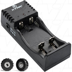 XTAR WP2 Lithium Ion Battery Charger with USB output