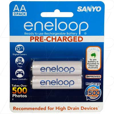 Picture of HR-3UTGA ENELOOP RECHARGEABLE AA BATTERY