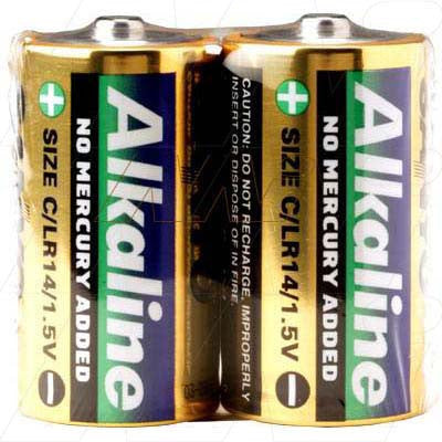 Picture of Sanyo Alkaline C / LR14 Battery