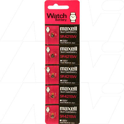 Picture of Maxell SR421SW Watch Battery