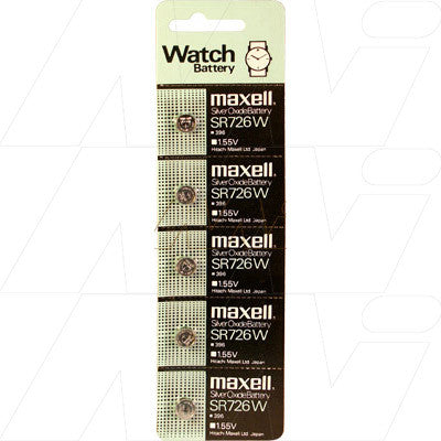 Picture of Maxell SR726W watch battery