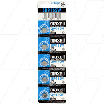 Picture of Maxell SR916SW Watch Battery