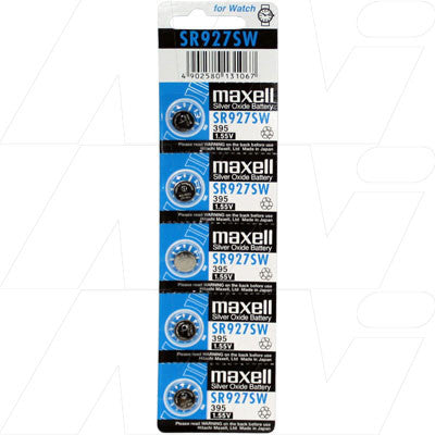 Picture of Maxell SR927SW watch battery